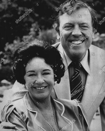 Tv Presenter Eamonn Andrews And Wife Grace.