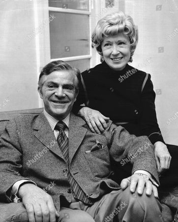 Actor Dana Andrews And Wife Mary Todd 1972.
