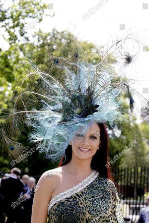 Chelsea Baker, hat by Ilda Di Vico