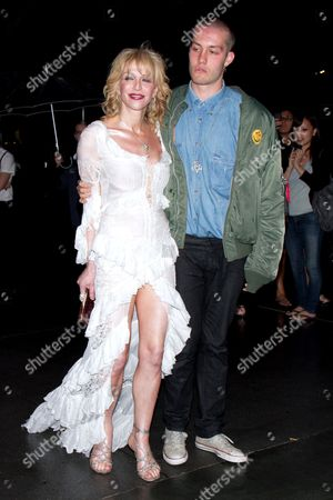 Stock Picture of Courtney Love and Jack Donoghue
