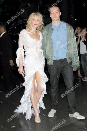 Courtney Love and Jack Donoghue