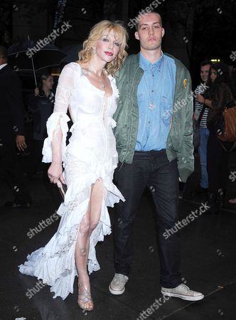 Stock Photo of Courtney Love and Jack Donoghue