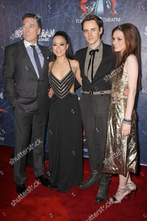Patrick Page, T V Carpio, Reeve Carney and Jennifer Damiano