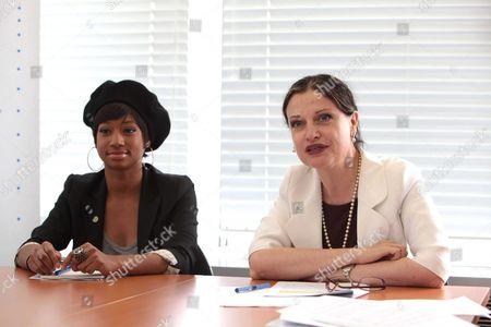 Editorial photo of United Nations Youth Champion Monique Coleman visits UNESCO, Paris, France - 14 Jun 2011