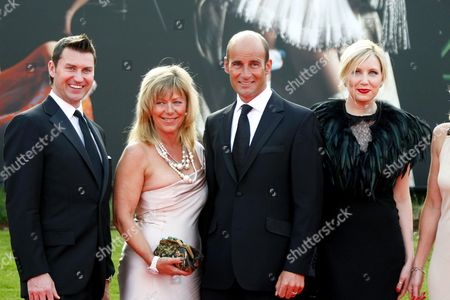 Martin Bain and guests