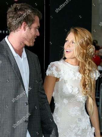 Blake Lively with brother Eric Lively