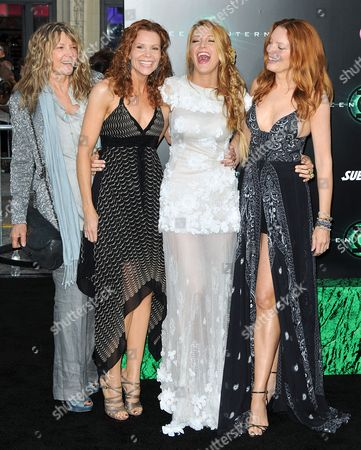 Elaine Lively, Robyn Lively, Blake Lively, Lori Lively