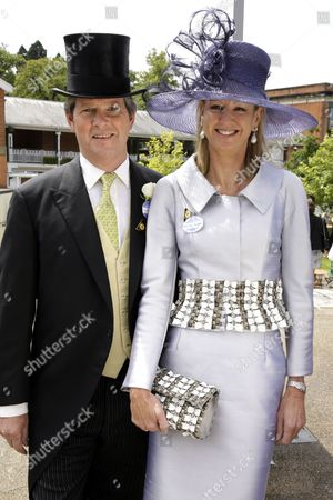 Guy Sangster and wife Fiona