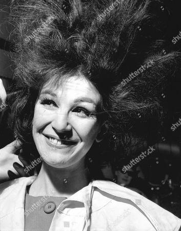 Actress Fenella Fielding 1961.