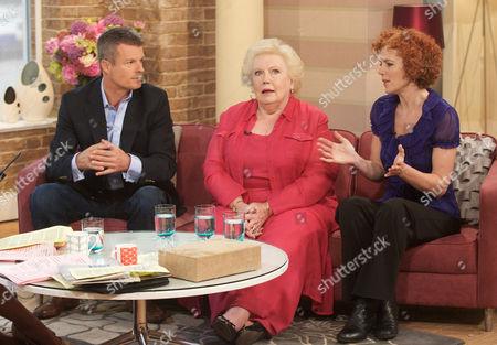 Nick Freeman, Denise Robertson and Lisa Longstaff