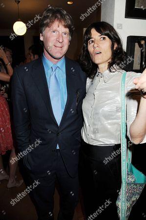 Mark Getty and Bella Freud
