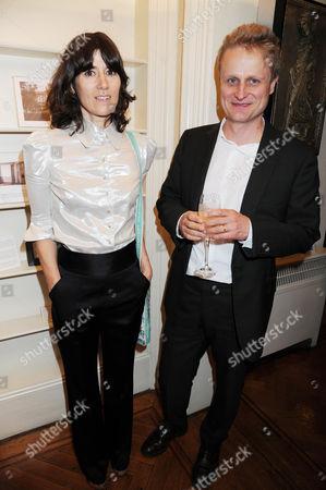 Bella Freud and Tom Astor