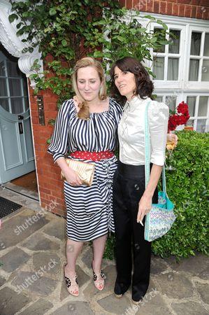Susie Boyt and Bella Freud