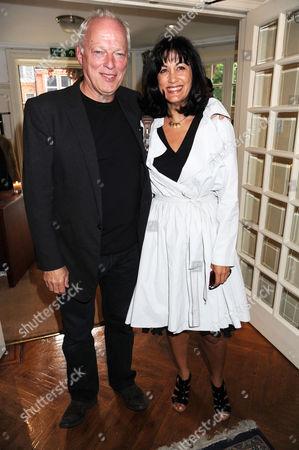 David Gilmour and Polly Gilmour