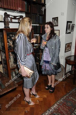 Susie Boyt and Helena Bonham Carter