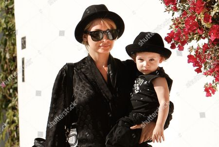 Nicole Richie and Sparrow Madden
