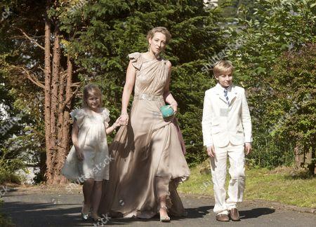 Countess Ingrid von Pfeil und Klein-Ellguth, Princess Alexandra of Sayn-Wittgenstein-Berleburg, Count Richard von Pfeil und Klein-Ellguth