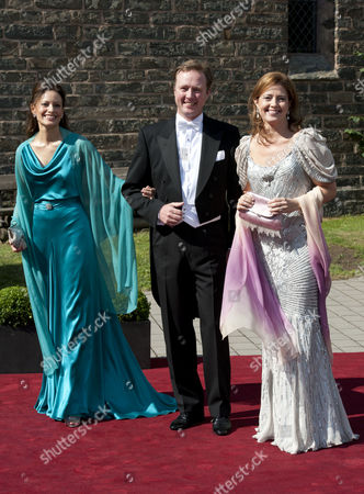 Carina Axelsson, Prince Gustav of Sayn-Wittgenstein-Berleburg and Princess Alexia