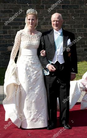 Princess Nathalie of Sayn-Wittgenstein-Berleburg and Prince Richard of Sayn-Wittgenstein-Berleburg