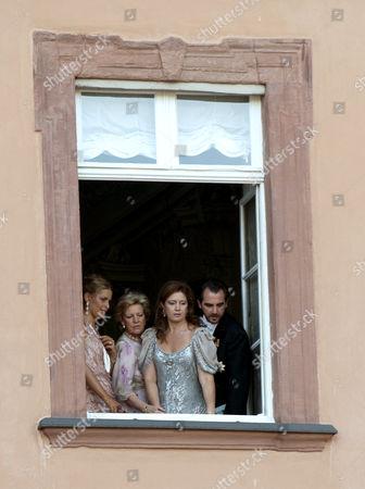 Princess Tatiana, Queen Anne-Marie, Princess Alexia and Prince Nikolaos