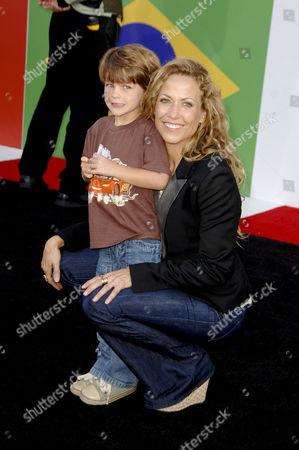 Sheryl Crow and son Wyatt Steven Crow