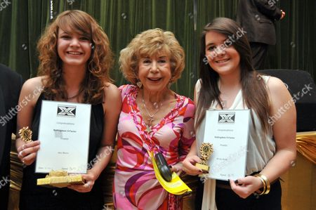 Editorial photo of Julie Cowell judges singing contest in Rottingdean, Sussex, Britain - 18 Jun 2011