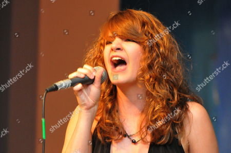 Editorial image of Julie Cowell judges singing contest in Rottingdean, Sussex, Britain - 18 Jun 2011