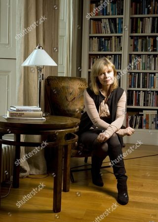 Editorial picture of Annalena McAfee at home in central London, Britain - 15 Mar 2011