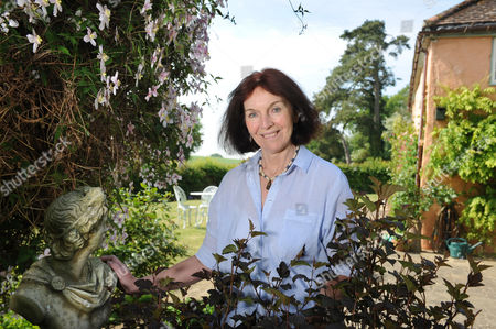 Editorial picture of Mavis Cheek at home near Marlborough, Wiltshire, Britain - 04 May 2011