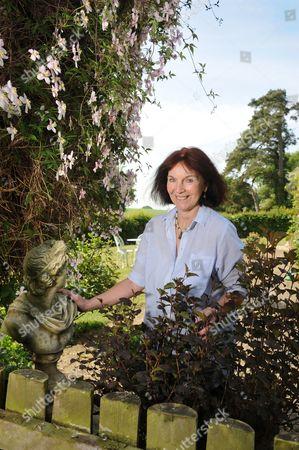 Editorial image of Mavis Cheek at home near Marlborough, Wiltshire, Britain - 04 May 2011