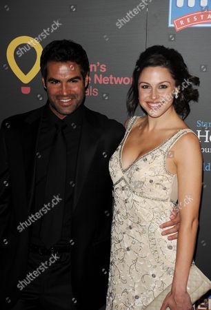 Jordi Vilasuso and Kaitlin Riley