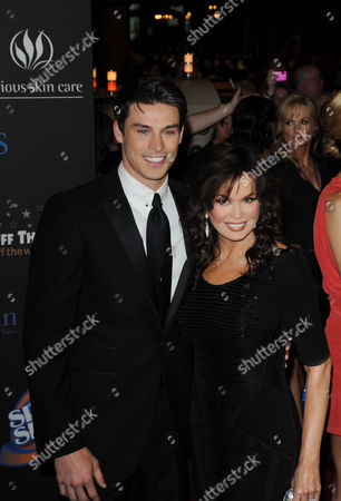 Adam Gregory and Marie Osmond