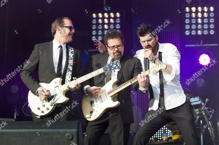 INXS - Kirk Pengilly, Andrew Farriss and J D Fortune
