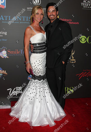 Stock Image of Cindy Ambuel and Don Diamont