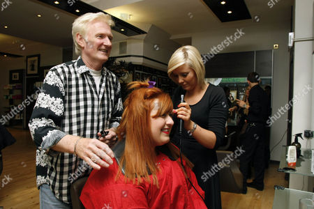 Michelle McManus with hairstylist Taylor Ferguson