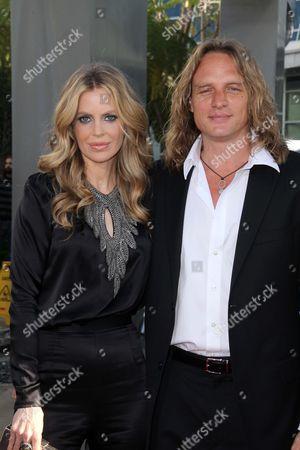 Kristin Bauer and Abri van Straten