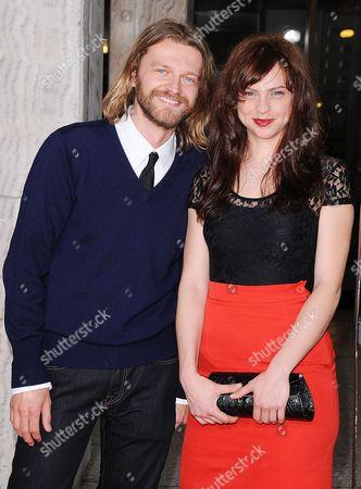 Stock Photo of Dean Chekvala and Fiona Dourif