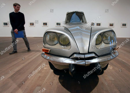 'La DS', 1993, modified Citroen DS car by Gabriel Orozco