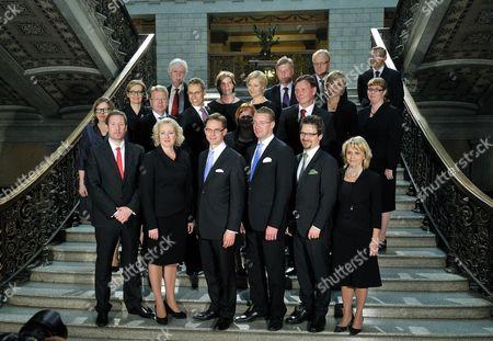 Editorial photo of New Finnish Government, Helsinki, Finland - 22 Jun 2011