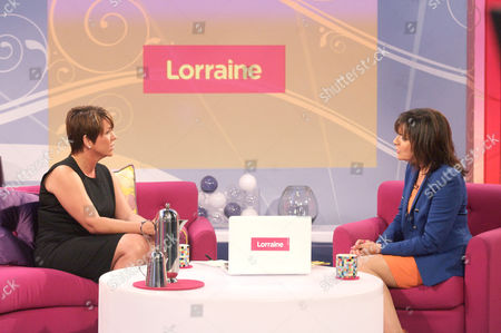 Stock Picture of Lorraine Fletcher and Lorraine Kelly