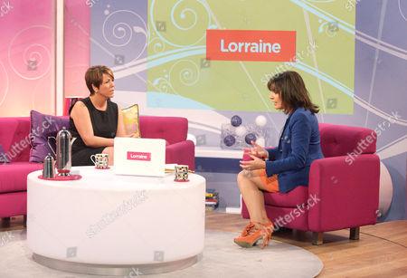 Stock Image of Lorraine Fletcher and Lorraine Kelly