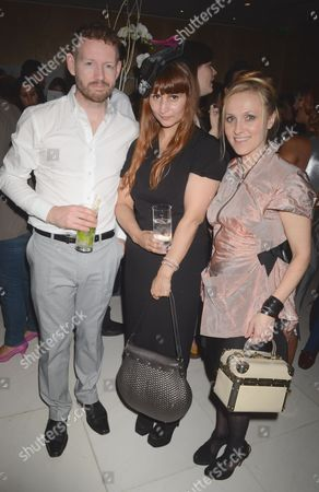 Christopher Beale, Rebekah Roy and Courtney blackman