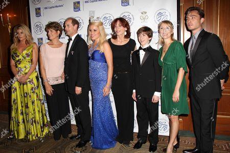 Kirstie Alley, Lucie Arnaz, Prince Edward, The Earl of Essex, Miss America 2011 Teresa Scanlan, Marilu Henner, Jacob Clemente, Liz Pearce and Ed Westwick