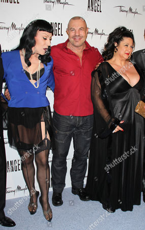 Stock Picture of Joey Arias, Thierry Mugler and Stella Ellis