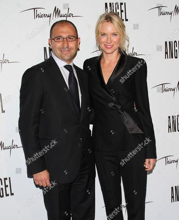 Editorial photo of 'Angel' Fragrance Launch, New York, America - 23 Jun 2011