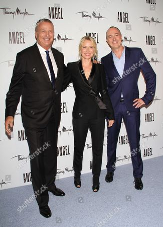 Christian Courtin-Clarins, Naomi Watts and Joel Palix
