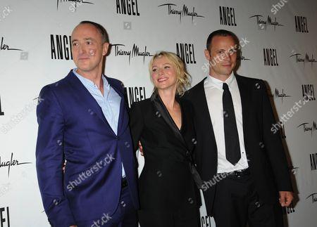 L-R: Joel Palix, Naomi Watts, Oscar Pistorius
