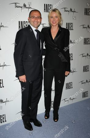 Editorial picture of 'Angel' Fragrance Launch, New York, America - 23 Jun 2011
