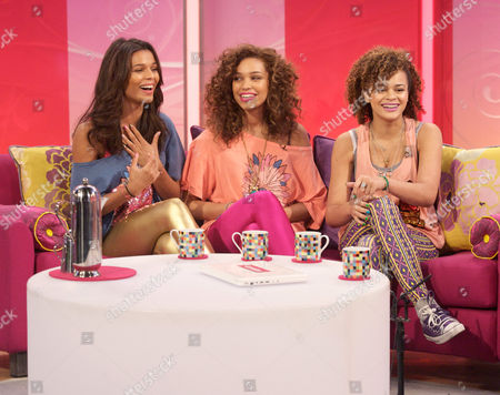 Editorial image of 'Lorraine Live' TV Programme, London, Britain - 24 Jun 2011