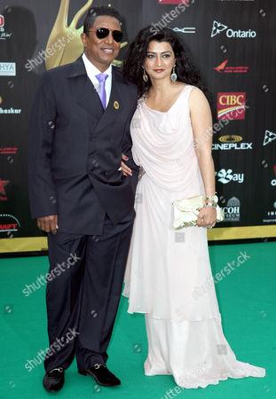 Jermaine Jackson and wife Halima Rashid